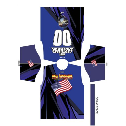 2020 Global Conquest Event Shirt USA Blue