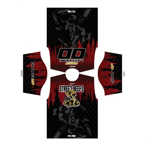 StreetBeefs Grit Dry-Wick Shirt Flat