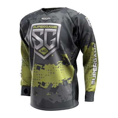 2020 SuperGame East (Maryland) Custom Event SMPL Jersey, Green Front