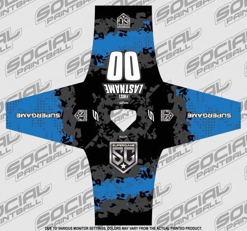 2020 SuperGame Custom Event SMPL Jersey, Blue