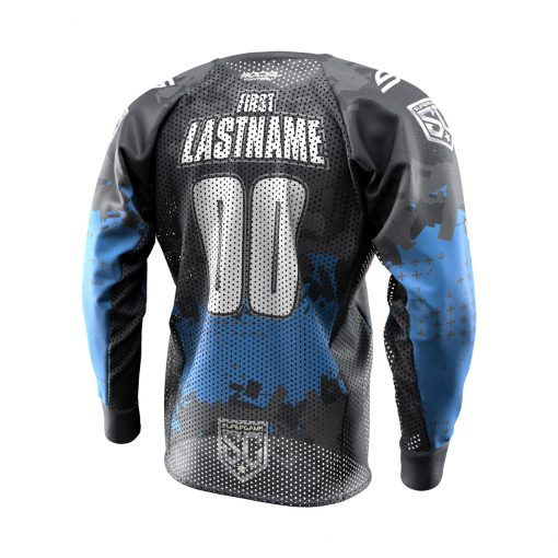 2020 SuperGame Custom Event SMPL Jersey, Blue Back