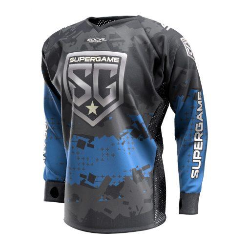 2020 SuperGame Custom Event SMPL Jersey, Blue Front