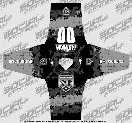 2020 SuperGame West (Oregon) Custom Event SMPL Jersey, Gray