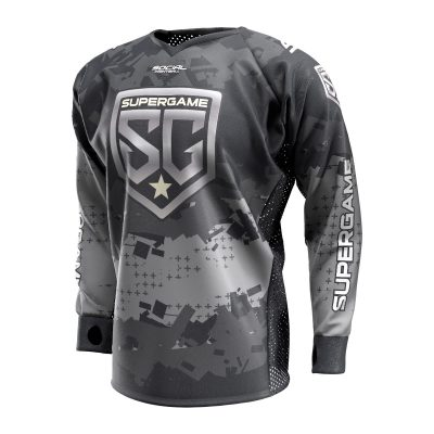 2020 SuperGame Custom Event SMPL Jersey, Gray Front