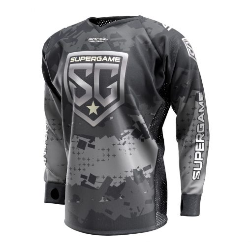 2020 SuperGame West (Oregon) Custom Event SMPL Jersey, Gray Front