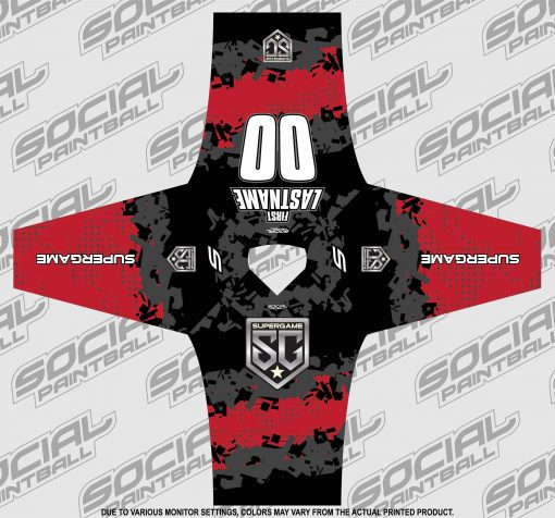 2020 SuperGame Custom Event SMPL Jersey, Red