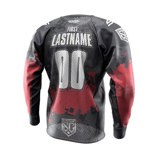 2020 SuperGame Custom Event SMPL Jersey, Red Back