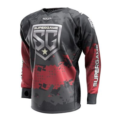 2020 SuperGame Custom Event SMPL Jersey, Red Front