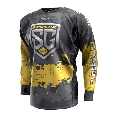 2020 SuperGame West (Oregon) Custom Event SMPL Jersey, Yellow Front