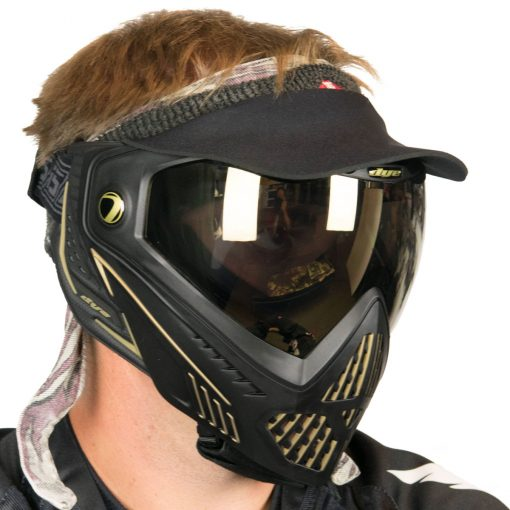 Vintage Duckbill Paintball Visor, Black