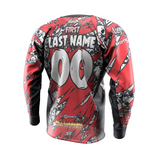 2020 Michigan Monster Game Custom Event SMPL Jersey, Red Team Back