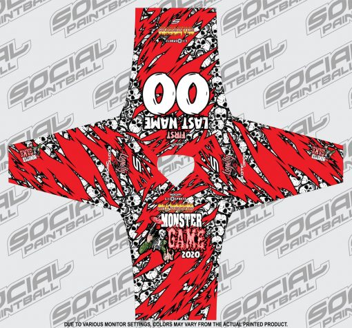 2020 Michigan Monster Game Custom Event SMPL Jersey, Red Team