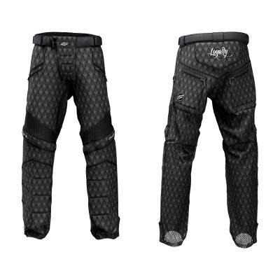 Custom Grit v3 Social Paintball Pants Black Dragon Scales