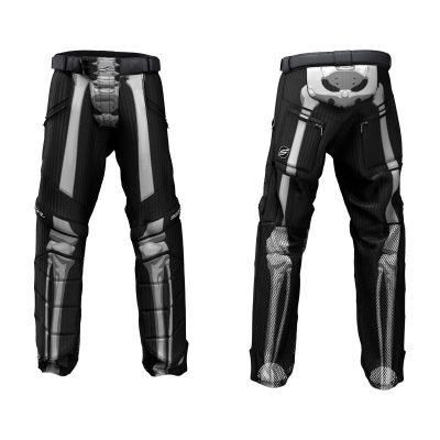 Custom Grit v3 Social Paintball Pants Skeleton Bones