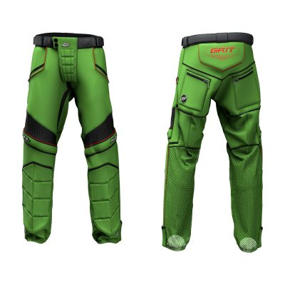 Custom Grit v3 Social Paintball Pants Green