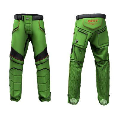 Custom Grit v3 Social Paintball Pants Green