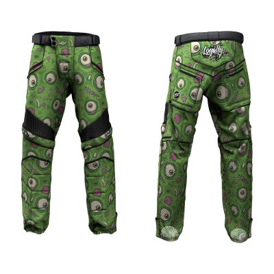 Custom Grit v3 Social Paintball Pants Green-eyed Monster