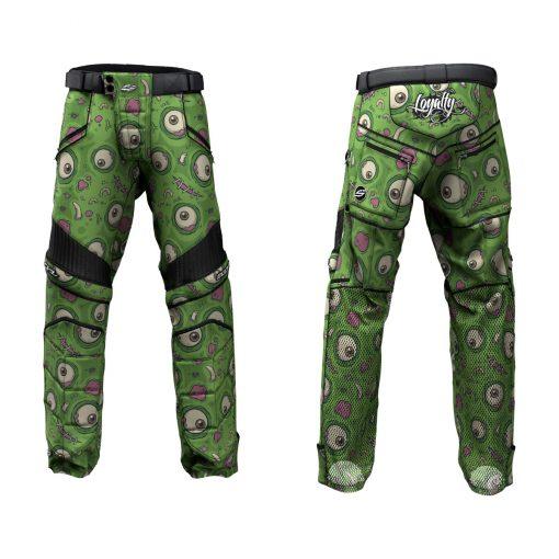Custom Grit v3 Social Paintball Pants Green-eyed Monster