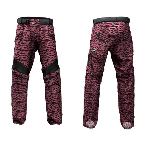 Custom Grit v3 Social Paintball Pants Hot Pink Tigerstripe