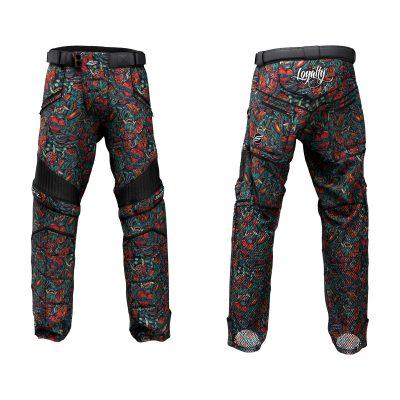 Custom Grit v3 Social Paintball Pants Oni Henso