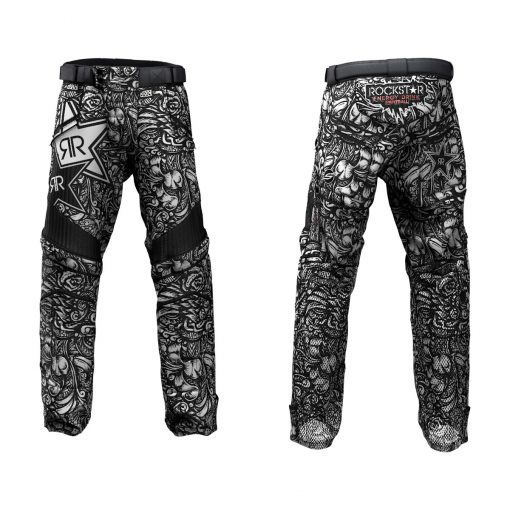 Custom Grit v3 Social Paintball Pants Rockstar Energy