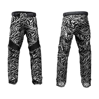 Custom Grit v3 Social Paintball Pants White Tiger