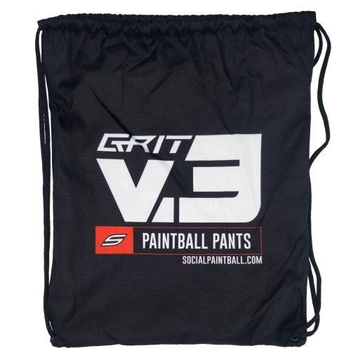 Social Paintball Grit v3 Pants Drawstring Carry Bag