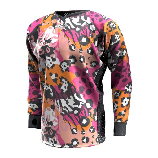 Big Cat Camo SMPL Paintball Jersey Front