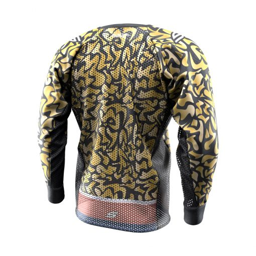 Exotic Tiger Gold SMPL Paintball Jersey Back
