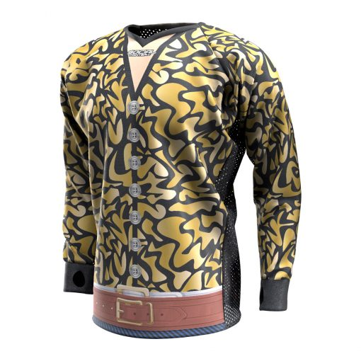 Exotic Tiger Gold SMPL Paintball Jersey Front