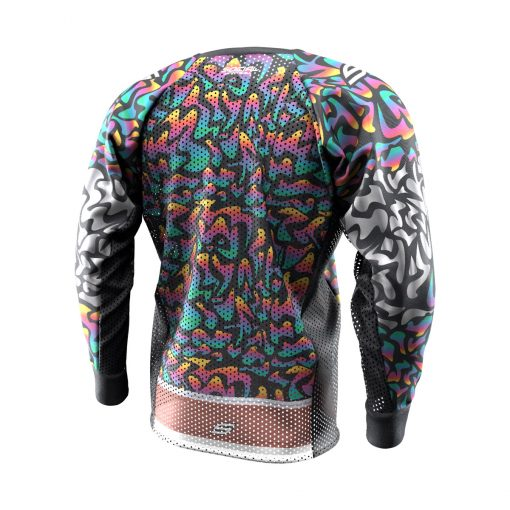 Exotic Tiger Rainbow SMPL Paintball Jersey Back