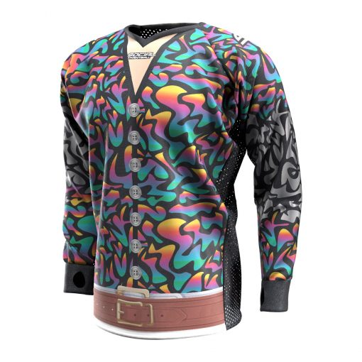 Exotic Tiger Rainbow SMPL Paintball Jersey Front