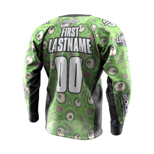 Green-eyed Monster SMPL Paintball Jersey Back