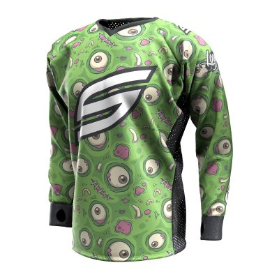 Green-eyed Monster SMPL Paintball Jersey Front
