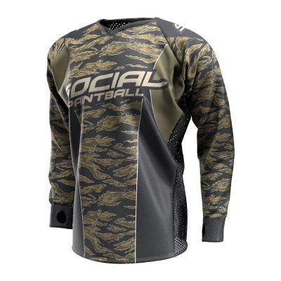 Tigerstripe SMPL Paintball Jersey Front