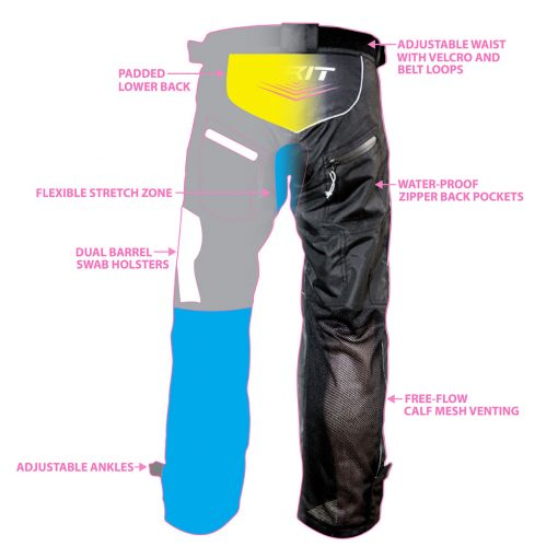 Custom Paintball Pant Design Back