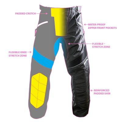 Custom Paintball Pant Design Front