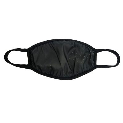 Social Paintball Face Mask Cover, Adult, Stealth Black Flat