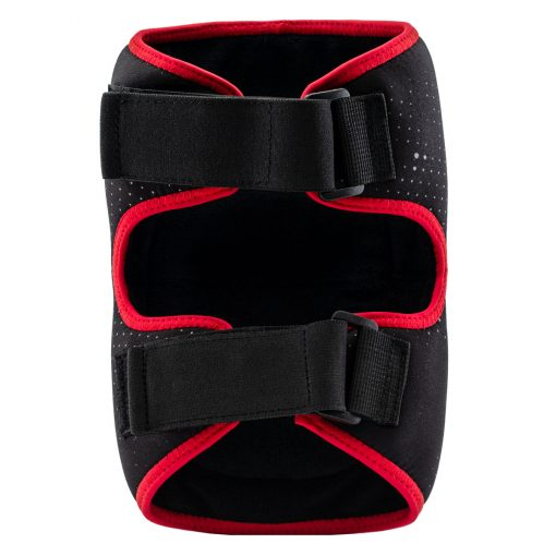Social Paintball SMPL Knee Pads, Black Red Back