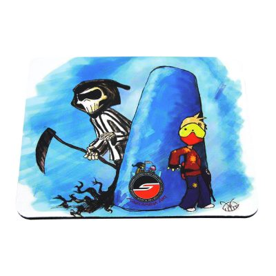 Tech Mat / Mouse Pad, Reaper, Paintball Cartoon Series