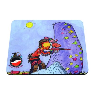 Tech Mat / Mouse Pad, Sponsored, Paintball Cartoon Series