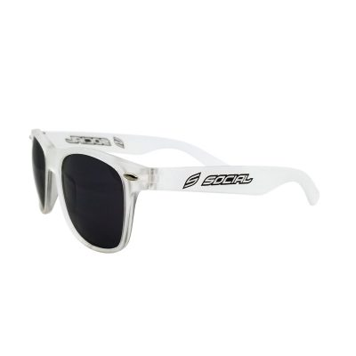 Social Paintball Sunglasses, Frost Side View
