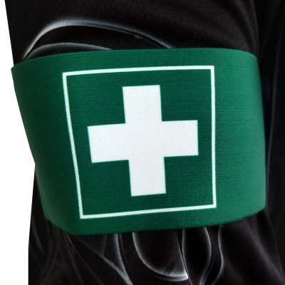 Social Paintball Team Armband, First Aid