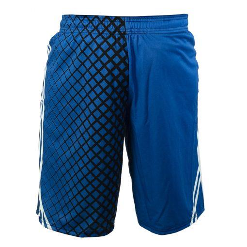 Social Paintball Grit Shorts, Blue Steel Back