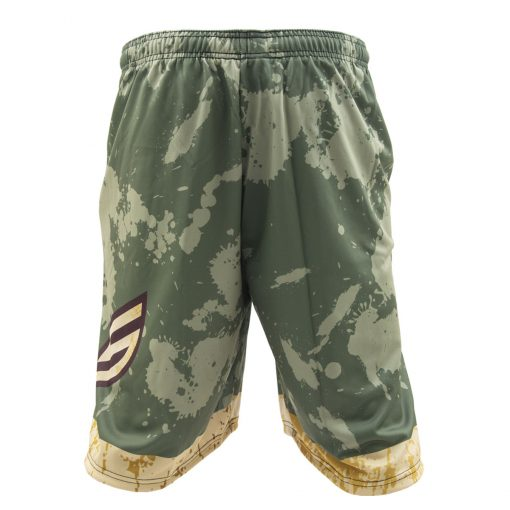 Social Paintball Grit Shorts, Grunge Back