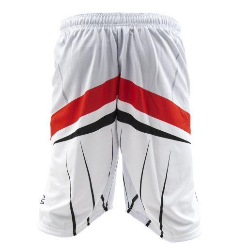 Social Paintball Grit Shorts, Silver Streak Back