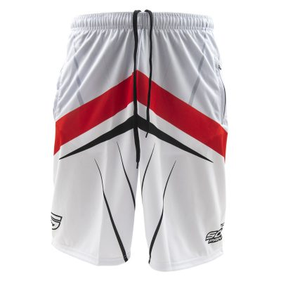 Social Paintball Grit Shorts, Silver Streak Front