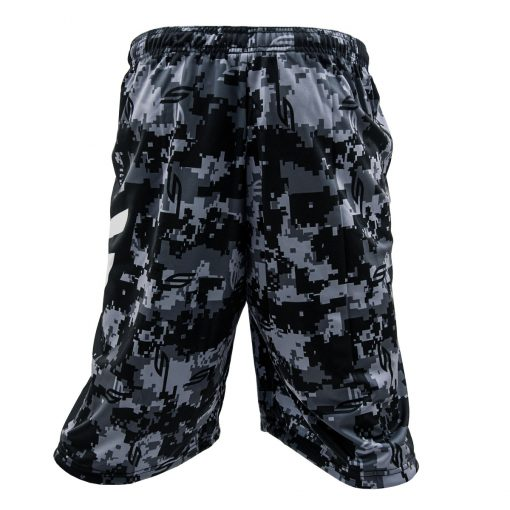 Social Paintball Grit Shorts, Socam Black Back