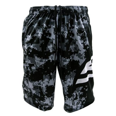 Social Paintball Grit Shorts, Socam Black Front