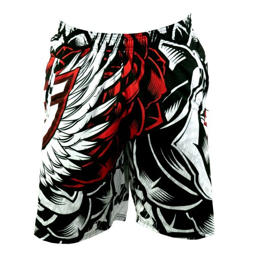 Social Paintball Grit Shorts, Wings Front
